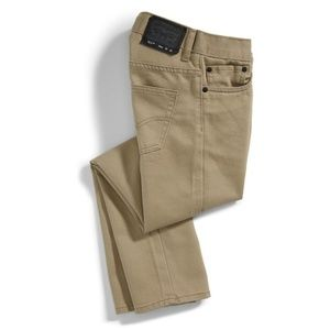 LEVI'S Boy 511 Slim Jeans Chinchilla Khaki Pants
